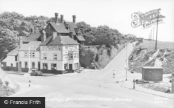 Portsdown Cross Roads c.1955, Widley