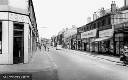 Widnes, Albert Road c.1960
