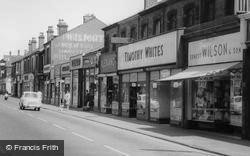 Widnes, Albert Road Shops c.1960