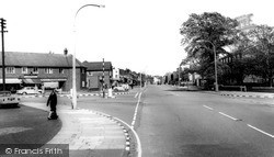Widnes, Ball O'ditton, Liverpool Road c.1965