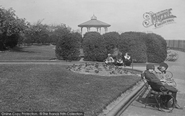 Photo of Widnes, Bandstand In Church Gardens 1923