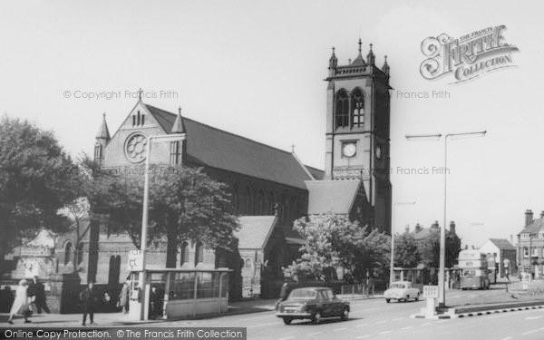Photo of Widnes, Church c.1965