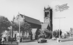 Widnes, Church c.1965