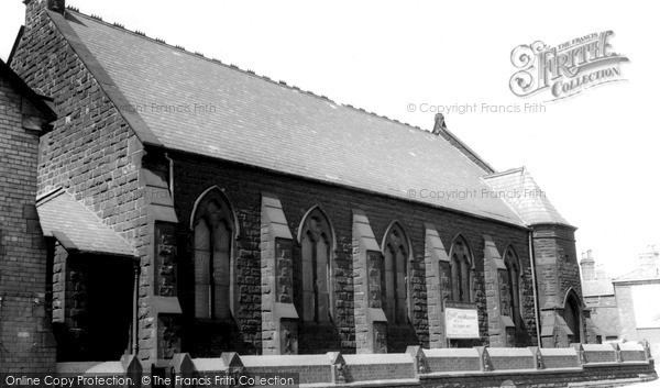 Photo of Widnes, Congregational Church c.1960