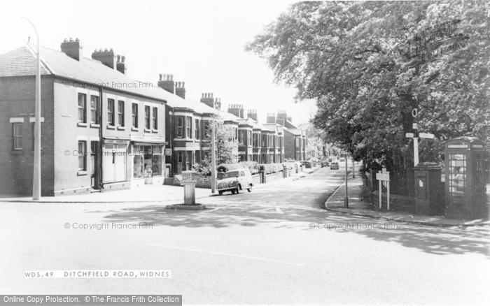 Photo of Widnes, Ditchfield Road c1965