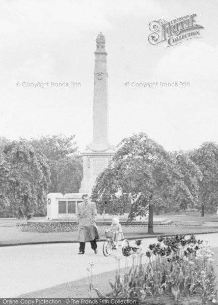 Photo of Widnes, Enjoying Victoria Park c.1955