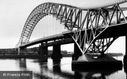 Widnes, High Level Road Bridge c1965
