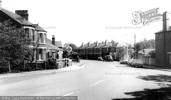 Photo of Widnes, Hough Green, Liverpool Road c.1965