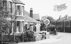 Widnes, Hough Green, Liverpool Road c.1965