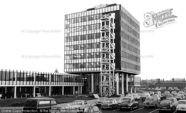 Photo of Widnes, Municipal Buildings c.1965