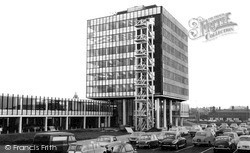 Widnes, Municipal Buildings c.1965