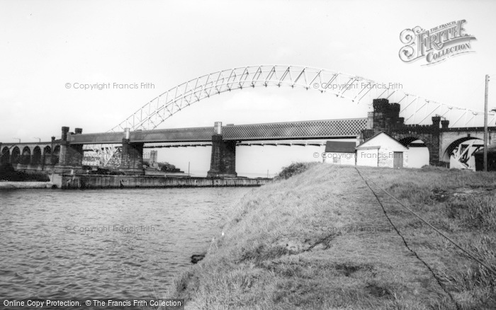 Photo of Widnes, Runcorn Bridge c.1965