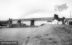 Widnes, Runcorn Bridge c.1965