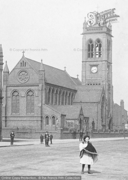 Photo of Widnes, St Paul's Church 1908
