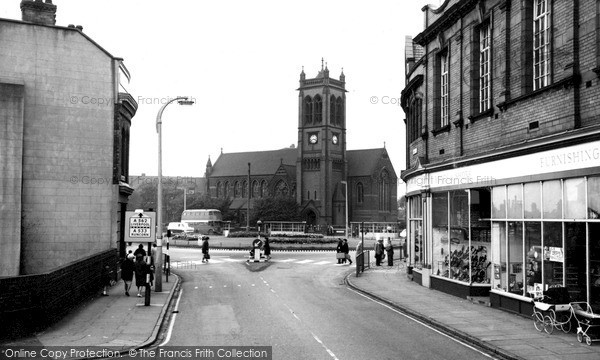 Photo of Widnes, St Paul's Church c.1965