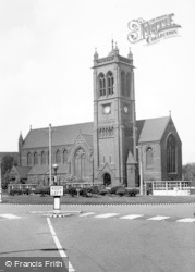 Widnes, St Paul's Parish Church c.1960