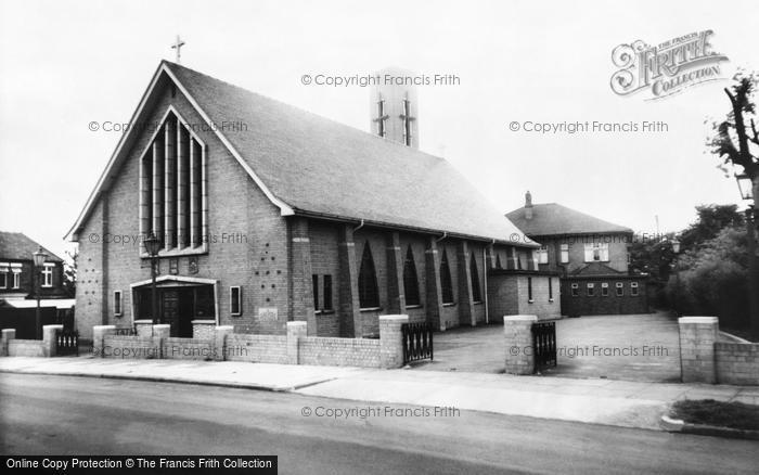 Photo of Widnes, St Pius Roman Catholic Church c.1960