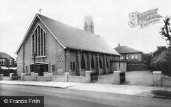 Widnes, St Pius Roman Catholic Church c.1960