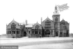 Widnes, Technical School And Public Library 1900