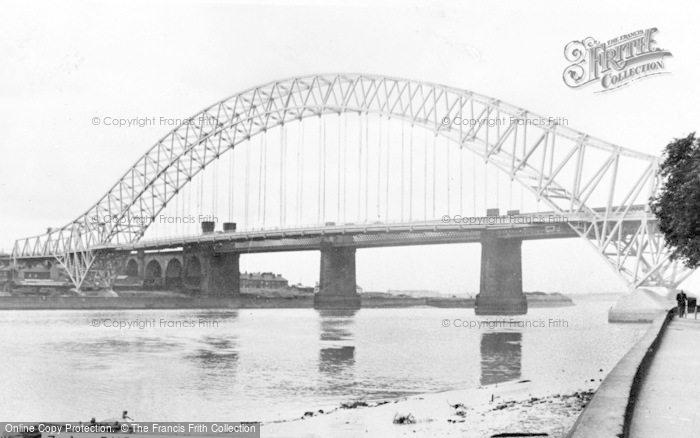 Photo of Widnes, The Bridge From The Promenade c.1960