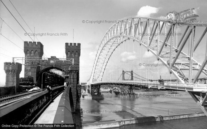 Photo of Widnes, The Bridges c.1961