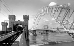 Widnes, The Bridges c.1961