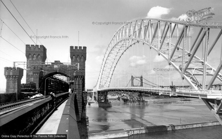 Widnes, the Bridges c1961