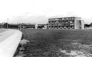 Widnes, the Flats c1965