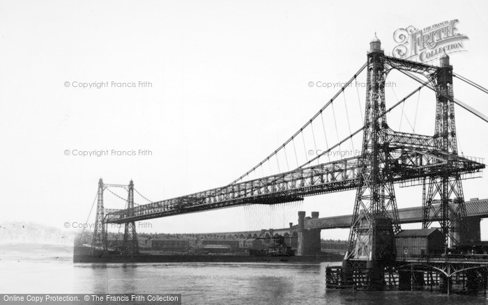 Photo of Widnes, The Transporter Bridge c.1955