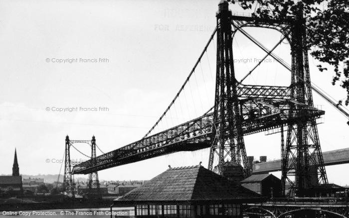 Photo of Widnes, The Transporter Bridge c.1955