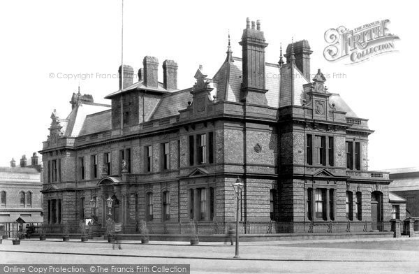 Photo of Widnes, Town Hall 1900
