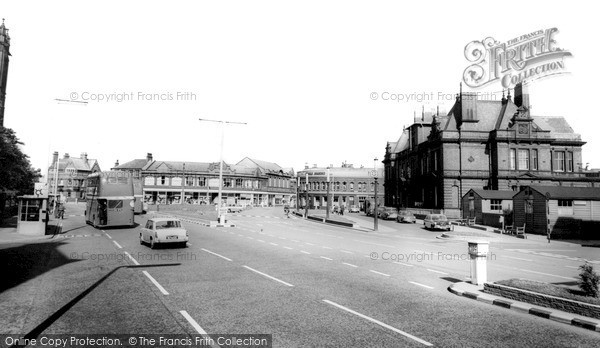 Photo of Widnes, Town Hall Square c.1965