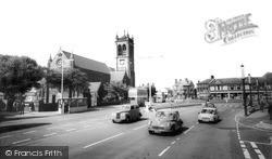 Town Hall Square c.1965, Widnes