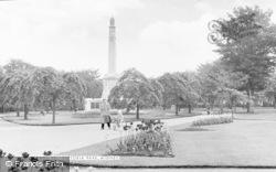 Widnes, Victoria Park c.1955