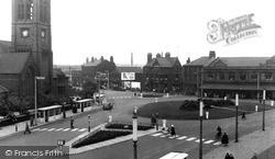 Widnes, Victoria Square c.1950