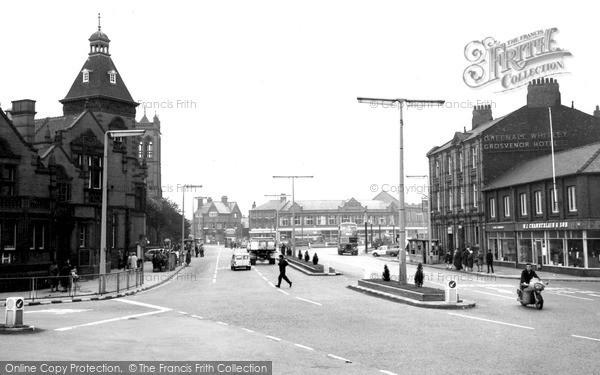 Photo of Widnes, Victoria Square c.1965