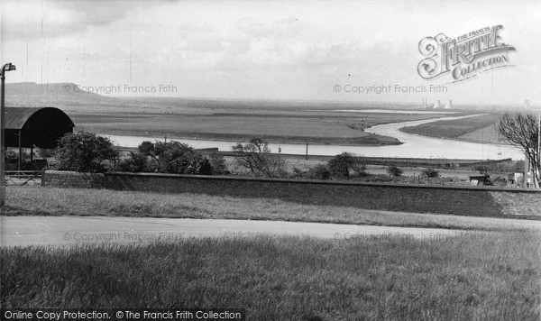 Photo of Widnes, View From Weston c.1960