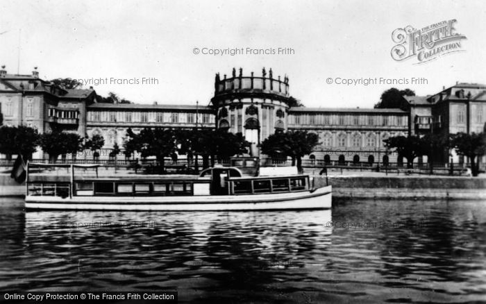 Photo of Wiesbaden, Biebrich On Rhine Castle c.1930