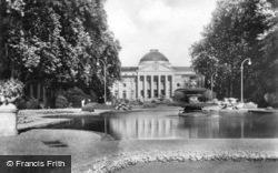 Casino And Flower Garden c.1930, Wiesbaden
