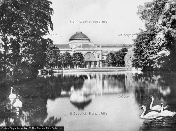 Photo of Wiesbaden, Casino And Pond c.1930