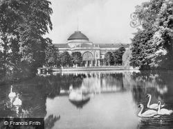 Casino And Pond c.1930, Wiesbaden