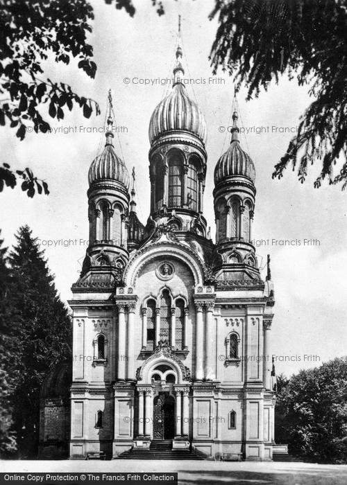 Photo of Wiesbaden, Greek Chapel c.1930