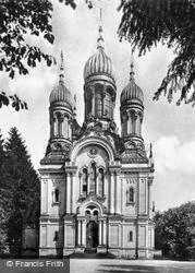 Greek Chapel c.1930, Wiesbaden