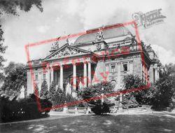 Nassovian National Theatre c.1930, Wiesbaden