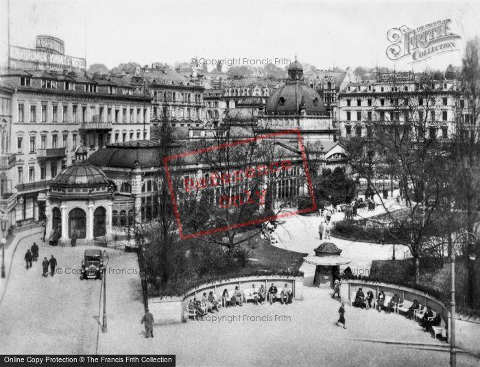 Photo of Wiesbaden, The Kochbrunnen c.1930