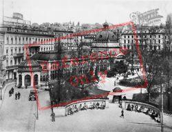 The Kochbrunnen c.1930, Wiesbaden
