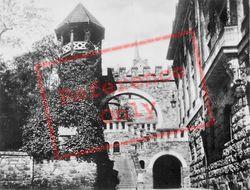The Romertor c.1930, Wiesbaden