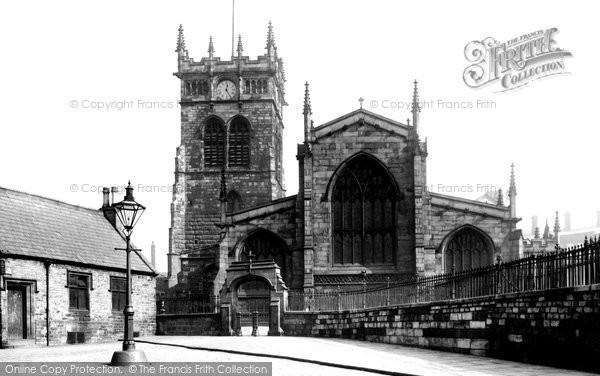 Photo of Wigan, All Saints Church 1895
