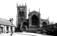 Wigan, Parish Church 1895
