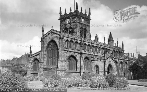 Photo of Wigan, All Saints Church c.1955
